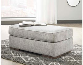 Signature Design by Ashley Mercado Series Ottoman in Pewter 8460414