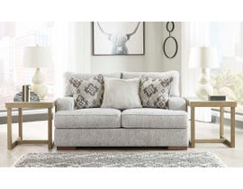 Signature Design by Ashley Mercado Series Loveseat in Pewter 8460435