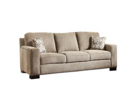 Mazin Gowan Fabric sofa in Beige Brown 8477