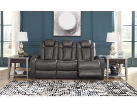 Signature Design by Ashley Power Reclining Sofa in Quarry 8500115