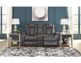 Signature Design by Ashley Power Reclining Loveseat in Quarry 8500118