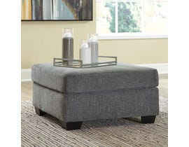 Signature Design by Ashley Dalhart Series Ottoman in Charcoal 8570308