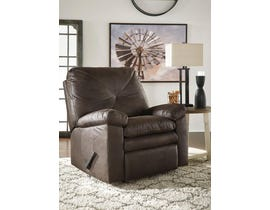 Signature Design by Ashley Speyer Collection Fabric Rocker Recliner in Teak 8600225