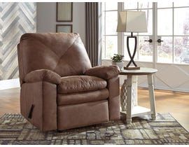 Signature Design by Ashley Speyer Collection Fabric Rocker Recliner in Bark 8600325