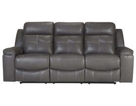 Signature Design by Ashley Reclining Sofa in Dark Gray 8670588