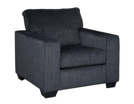 Signature Design by Ashley Altari Collection Fabric Chair in Slate 87213