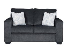 Signature Design by Ashley Altari Collection Fabric Loveseat in Slate 87213
