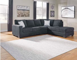 Signature Design by Ashley 2-Piece Sectional with Chaise in Slate 87213S2