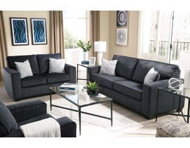 Signature Design by Ashley Altari Collection Fabric Sofa set in Slate 87213