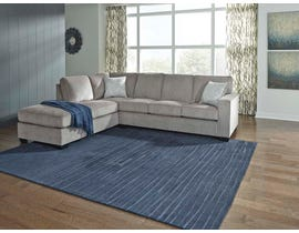 Signature Design by Ashley 2-Piece Sectional with Chaise in Alloy 87214S1