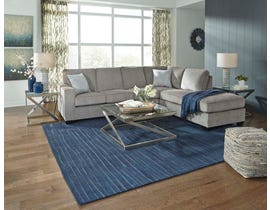 Signature Design by Ashley 2-Piece Sectional with Chaise in Alloy 87214S2