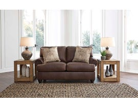 Signature Design by Ashley Bearmerton Series Loveseat in Vintage 8790135