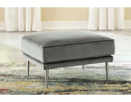 Signature Design by Ashley Macleary Series Ottoman in Steel Grey 8900714