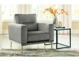 Signature Design by Ashley Macleary Series Chair in Steel Grey 8900720