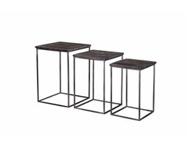 Primo Nesting Tables (Set of 3) in Grey 8917