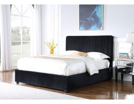 Brassex Storage Platform Bed in Black 897