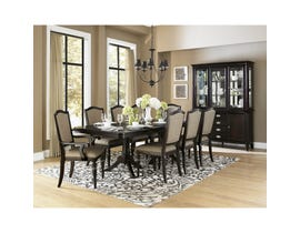 Homelegance Marston wooden 7-piece dining set in wood cherry brown 2615DC