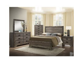 NATHAN 6 PIECE Wooden Frames KING BEDROOM SET