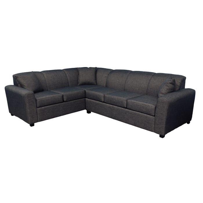 Armani fabric sofa bed sectional in slate grey 1535