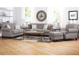 Decor-Rest 3-Piece Fabric Sofa Set in Dolmite Taupe 2133