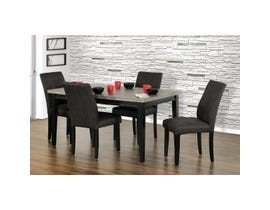 Primo International 5-Piece Dining Set in Grey 6024