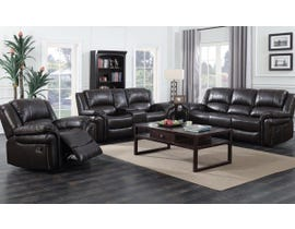 3PC Motion Reclining Sofa Set in Espresso  UPH3186L