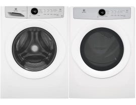 Electrolux Laundry Pair 4.3 cu. ft. Washer EFLW317TIW & 8.0 cu. ft. Electric Dryer in White EFDC317TIW