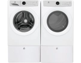 Electrolux 8.0 cu.ft. Front Load Electric Laundry Pair EFDC317TIW/EFLW317TIW