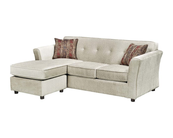 Miraculous Sofa By Fancy Fabric 2Pc Sectional In Kord Ivory 2500 Evergreenethics Interior Chair Design Evergreenethicsorg