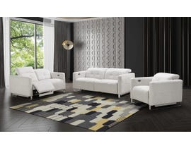 Vogue 3pc Power Reclining Sofa Set in Dove PX2997