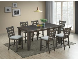 Bailey Series 7pc Pub Set in Light Grey