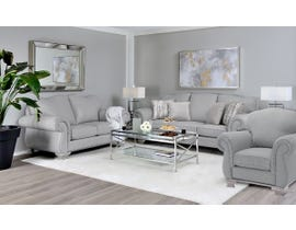 Decor-Rest 3pc Fabric Sofa Set in Grey 6933