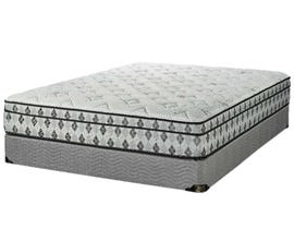 "King Koil 10.5"" Barrie Pocket Coil Euro Top Queen Mattress Set"