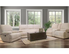 Flair Kennedy Series 3pc Reclining Sofa Set in Ivory