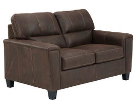 Signature Design by Ashley Navi Series Loveseat in Chestnut 9400335