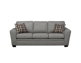 SBF Upholstery Sorrento Fabric Sofa in Grey 9555