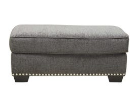 Benchcraft by Ashley Ottoman in Carbon 9590414