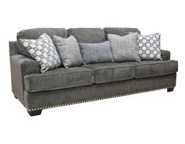 Signature Design by Ashley Locklin Collection Fabric Sofa in Carbon 95904