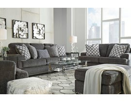 Signature Design by Ashley Locklin Collection 3 Piece Fabric Sofa Set in Carbon 95904