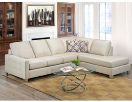Sofa by Fancy Rexford Collection Trac arm top grain Leather Sofa Zurick Ice finish 9851-04-18