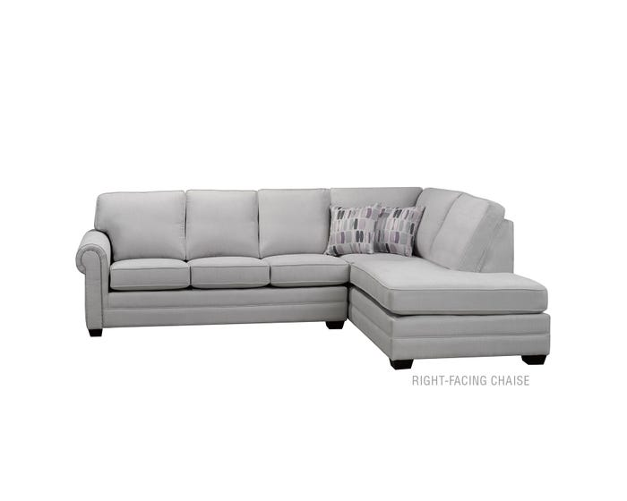 Fabulous Sofa By Fancy 2 Piece Sectional In Light Grey 9919 Ibusinesslaw Wood Chair Design Ideas Ibusinesslaworg