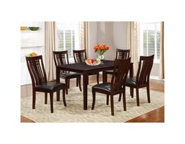 Brassex Fairmont 7-piece Kitchen Table Set Cappuccino 995-17-CAP