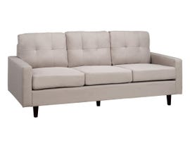 Brassex Tufted Fabric Sofa in Beige JF1207-BEI