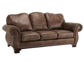 Decor-Rest Leather Sofa in Saddle Whiskey 3933
