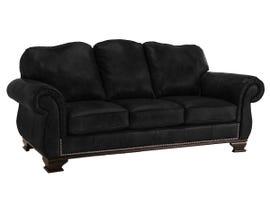 Decor-Rest Leather Sofa in Metro Onyx 3933