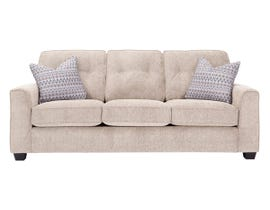 Decor-Rest Rico Collection Fabric Sofa in Pier Taupe 2967