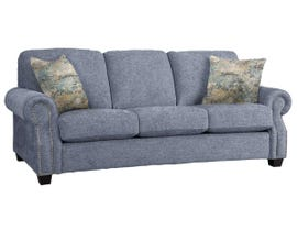 Decor-Rest Rico Collection Fabric Sofa in Bombshell Sky/Freshwater Sky 2279