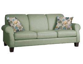 Décor-Rest Joey Sky Collection Fabric Sofa in Misty Moss/Treehouse Turquoise 2025
