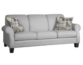 Décor-Rest Joey Sky Collection Fabric Sofa in Hot Grey/Quartz Grey 2025