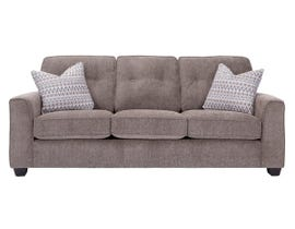 Decor-Rest Rico Collection Fabric Sofa in Pewter 2967
